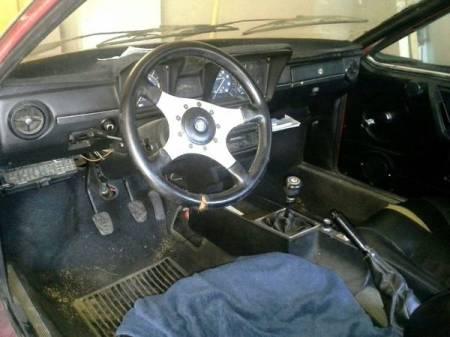 1976 Alfa Romeo Alfetta GT 4 interior