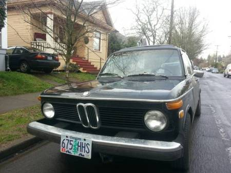 1976 BMW 2002 2 front