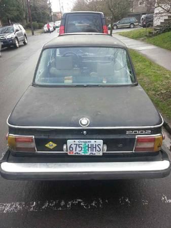 1976 BMW 2002 2 rear