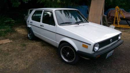 1978 VW Rabbit 2 right front