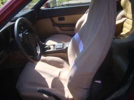 1982 Porsche 924 interior