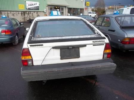 1982 VW Quantum rear