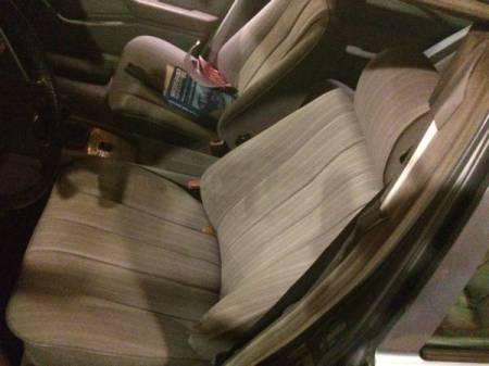 1984 Mercedes 300D interior