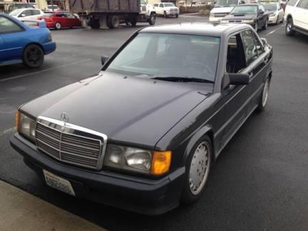 1987 Mercedes 190E left front