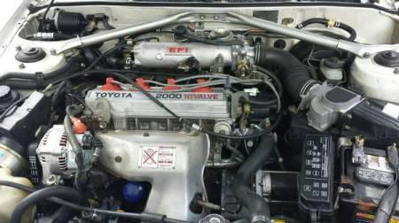 1988 Toyota Celica convertible engine