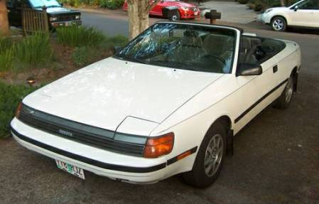 1988 Toyota Celica convertible left front