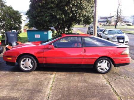1989 Ford Probe GT left side
