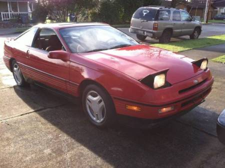 1989 Ford Probe GT right front
