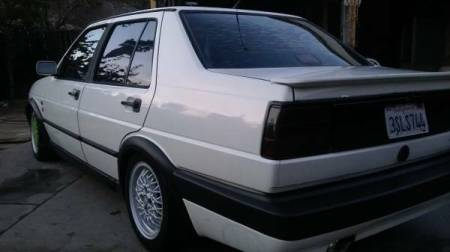 1990 Volkswagen Jetta GLI left rear