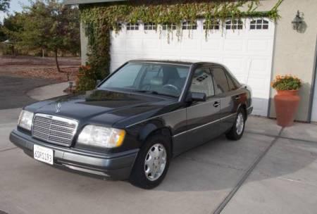 1995 Mercedes E300 Diesel left front
