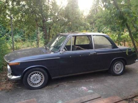 1967 BMW 1600 left front