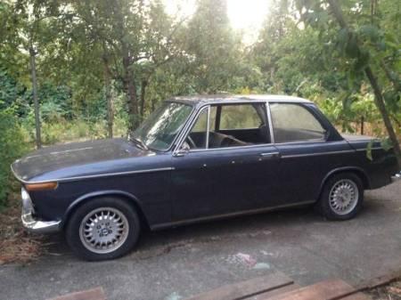 1967 BMW 1600 left front