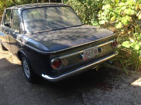 1967 BMW 1600 left rear