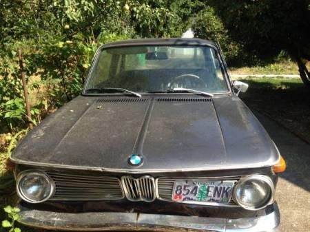 1967 BMW 1600 nose