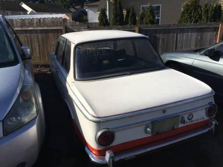 1968 BNW 1600 left rear