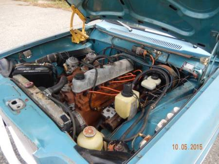 1969 Volvo 164 engine