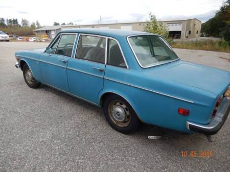 1969 Volvo 164 left rear