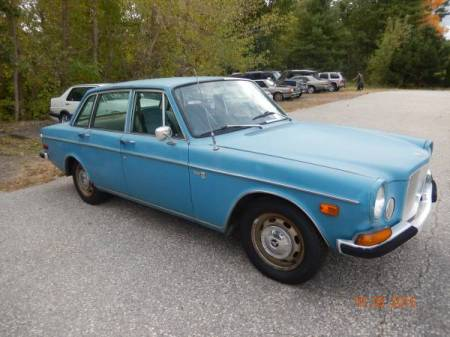 1969 Volvo 164 right front