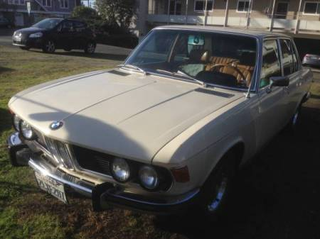 1970 BMW 2800 left front