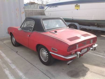 1970 Fiat 850 Spider 1 left rear