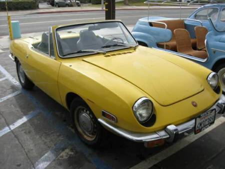 Primary Colors 1968 Fiat 850 Spider And 1970 850 Spider