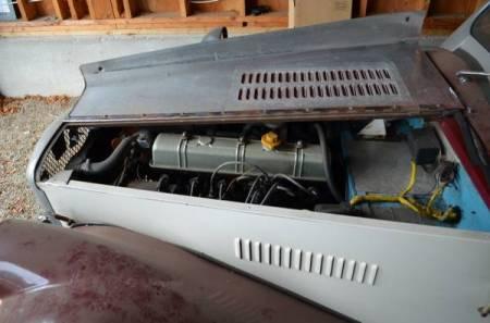 1971 Spartan Roadster engine