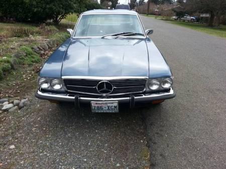 1973 Mercedes 450 SLC front