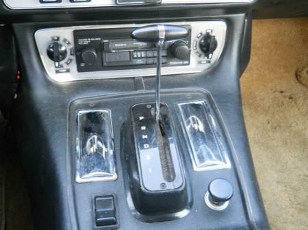 1976 Jaguar XJS console