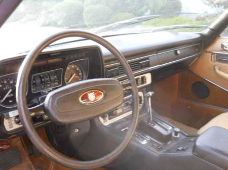 1976 Jaguar XJS interior 1
