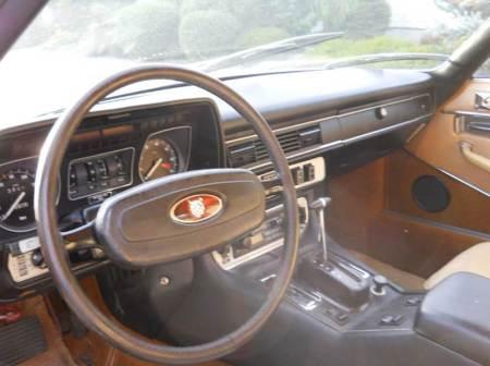1976 Jaguar XJS interior 1