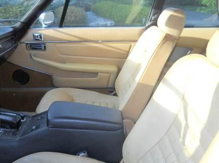 1976 Jaguar XJS interior 2