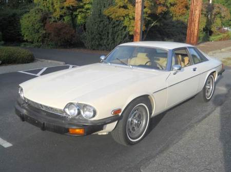 1976 Jaguar XJS left front