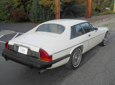 1976 Jaguar XJS right rear