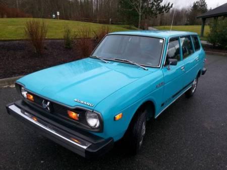 1976 Subaru DL Wagon left front