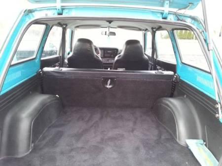1976 Subaru DL Wagon trunk