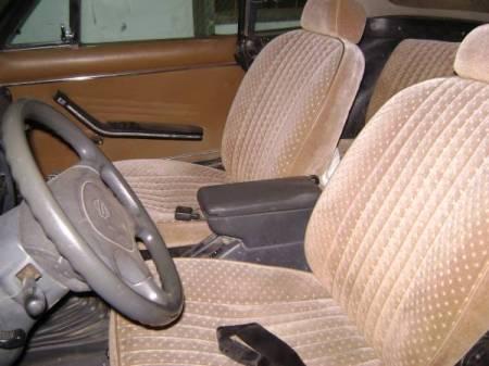 1977 Fiat 124 Spider 4x4 interior