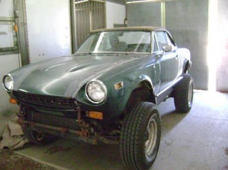 1977 Fiat 124 Spider 4x4 left front