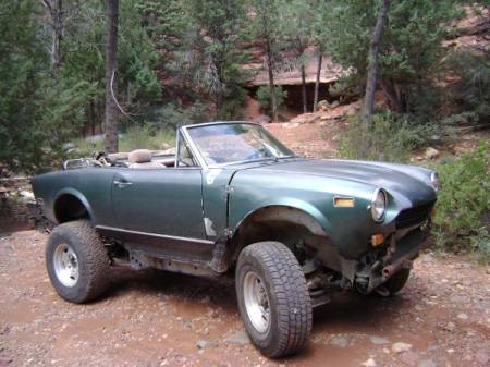 1977 Fiat 124 Spider 4x4 right front
