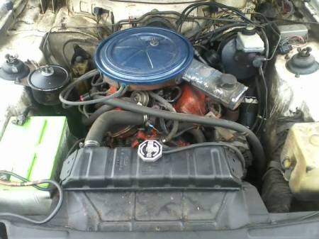 1977 Ford Capri engine