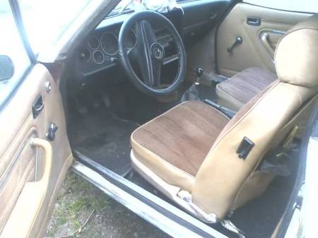 1977 Ford Capri interior