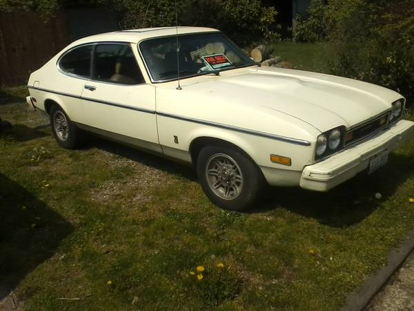 Body Color Bumpers 1977 Ford Capri Mkii Rusty But Trusty