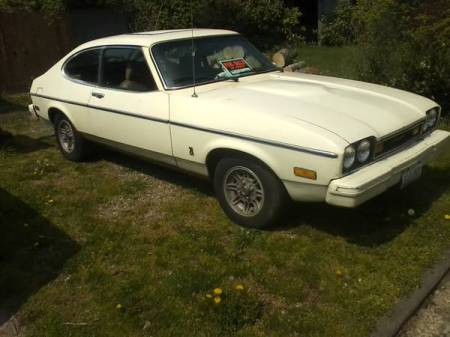 1977 Ford Capri right front