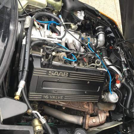 1990 Saab 900 Turbo engine
