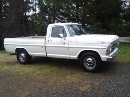 1967 Ford F250 right front