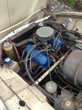 1969 Saab 96 engine