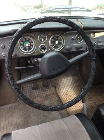 1969 Saab 96 interior