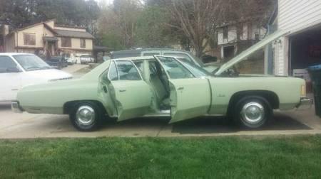 1975 Chevrolet Impala right side