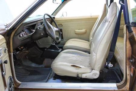 1975 Plymouth Duster interior