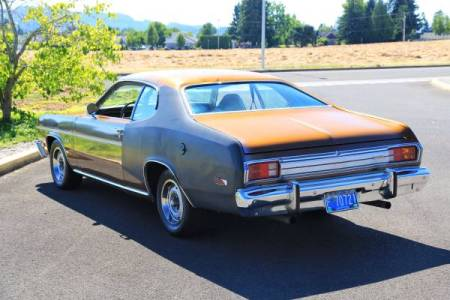 1975 Plymouth Duster left rear