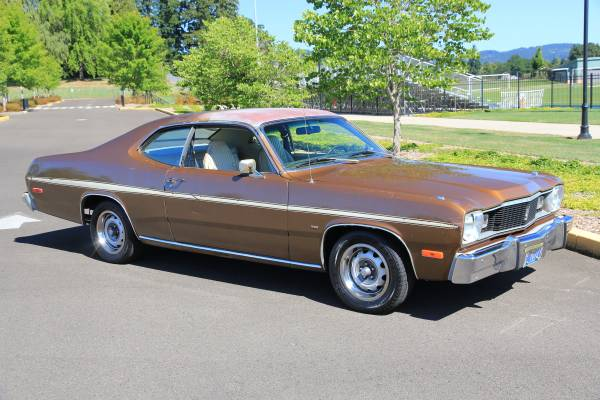 Delivering The Promise 1975 Plymouth Duster Rusty But
